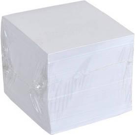 Блок 900 листов 90×90 мм белый офсет «Коленкор»                         BSM9/900