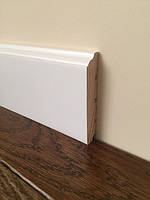 Плинтус ПН 1680 Колониал Белый деревянный сосновый 16*80*3000мм