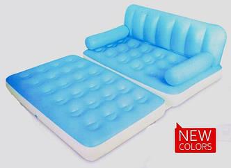Надувной диван-трансформер 5 в 1