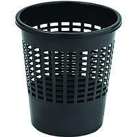 Корзина для мусора и бумаг 30 см. черная, пластиковая Curver