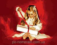 Картина по номерам Набор БЕЗ КРАСОК! Menglei Подарок MG1033 40 х 50 см