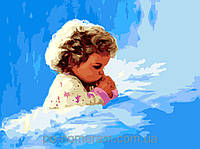 Картина по номерам Menglei Детская молитва MG1034 40 х 50 см, фото 1