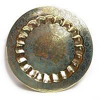Тарелка бронзовая настенная 43,5