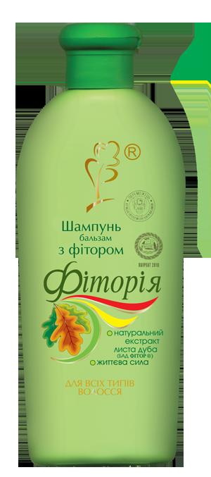 Шампунь-бальзам с фитором «Фитория», 250 мл