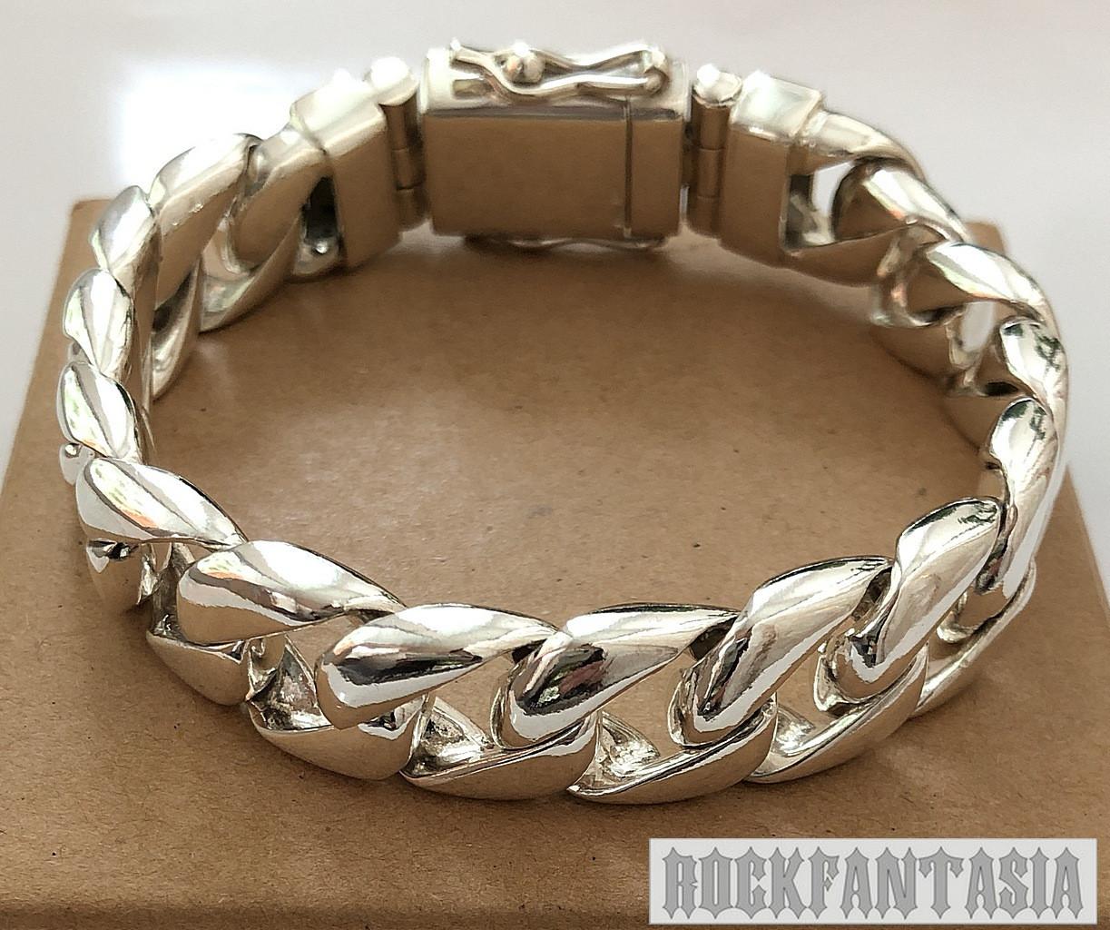 Серебряный мужской браслет панцирный панцирь панцирное плетение