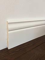 Плинтус ПН 16120 Классик Белый деревянный сосновый 16*120*3000мм