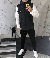 Мужская жилетка Nike серая