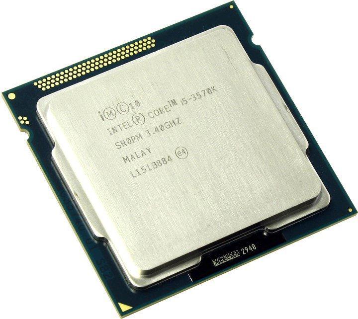 "Процессор Intel Core i5-3570K BX80637I53570K 3.4GHz Socket 1155  Tray ""Over-Stock"" Б/У"