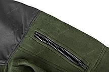 Тактична флісова куртка/ кофта Helikon-Tex® Classic Army (оливкова), фото 3