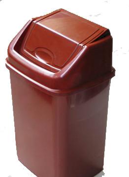 Відро для сміття з поворотною кришкою, 4,2л, Од