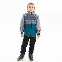 """Куртка - жилет для мальчика демисезонная """"Маршал """", фото 1"""