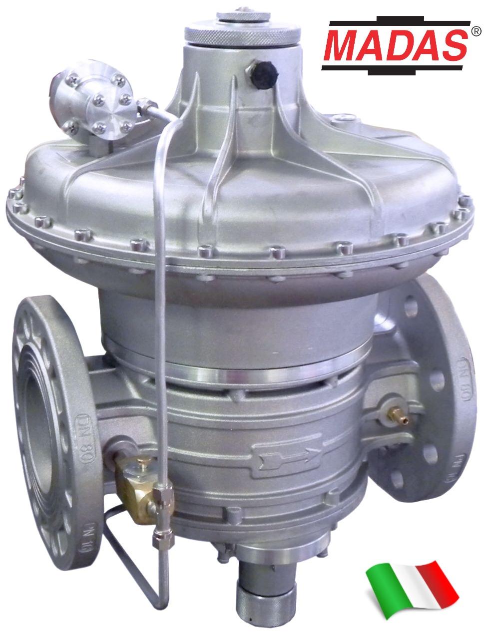 Регулятор давления газа RG/2MBHZ, DN80, MADAS