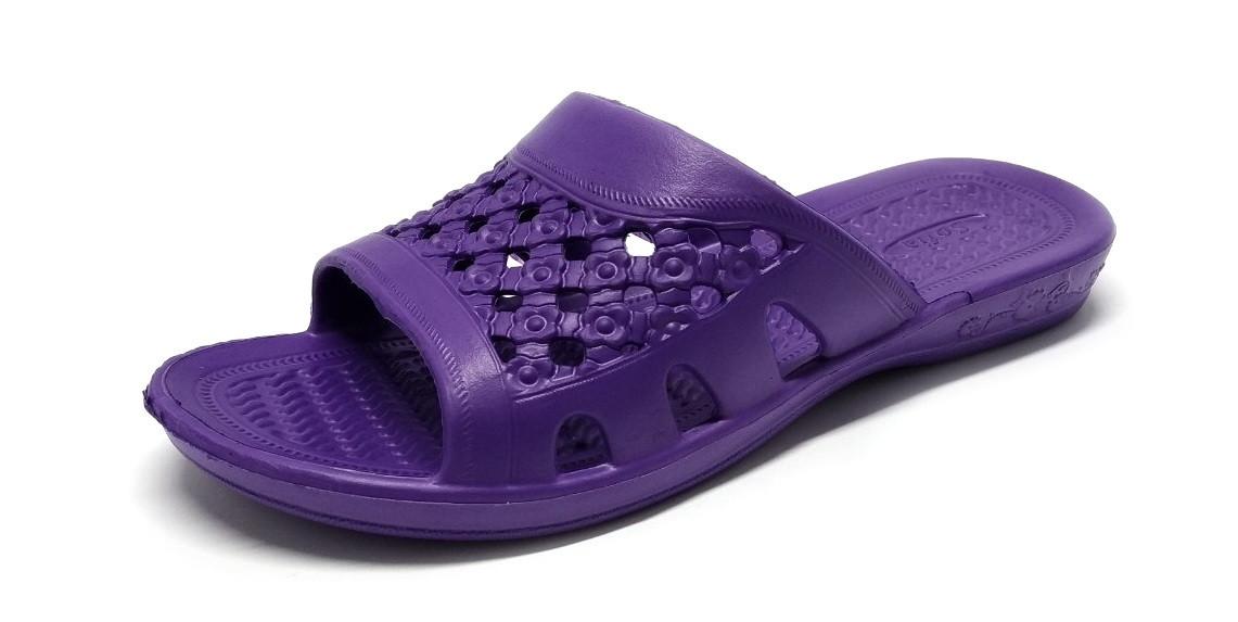Пляжные тапочки женские ЕВА Прогрес София, фиолетовый
