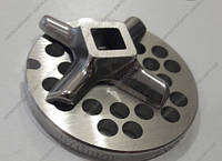 Комплект решетка и нож для мясорубки Bosch Champion