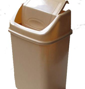 Відро для сміття з поворотною кришкою 8,5л, Од