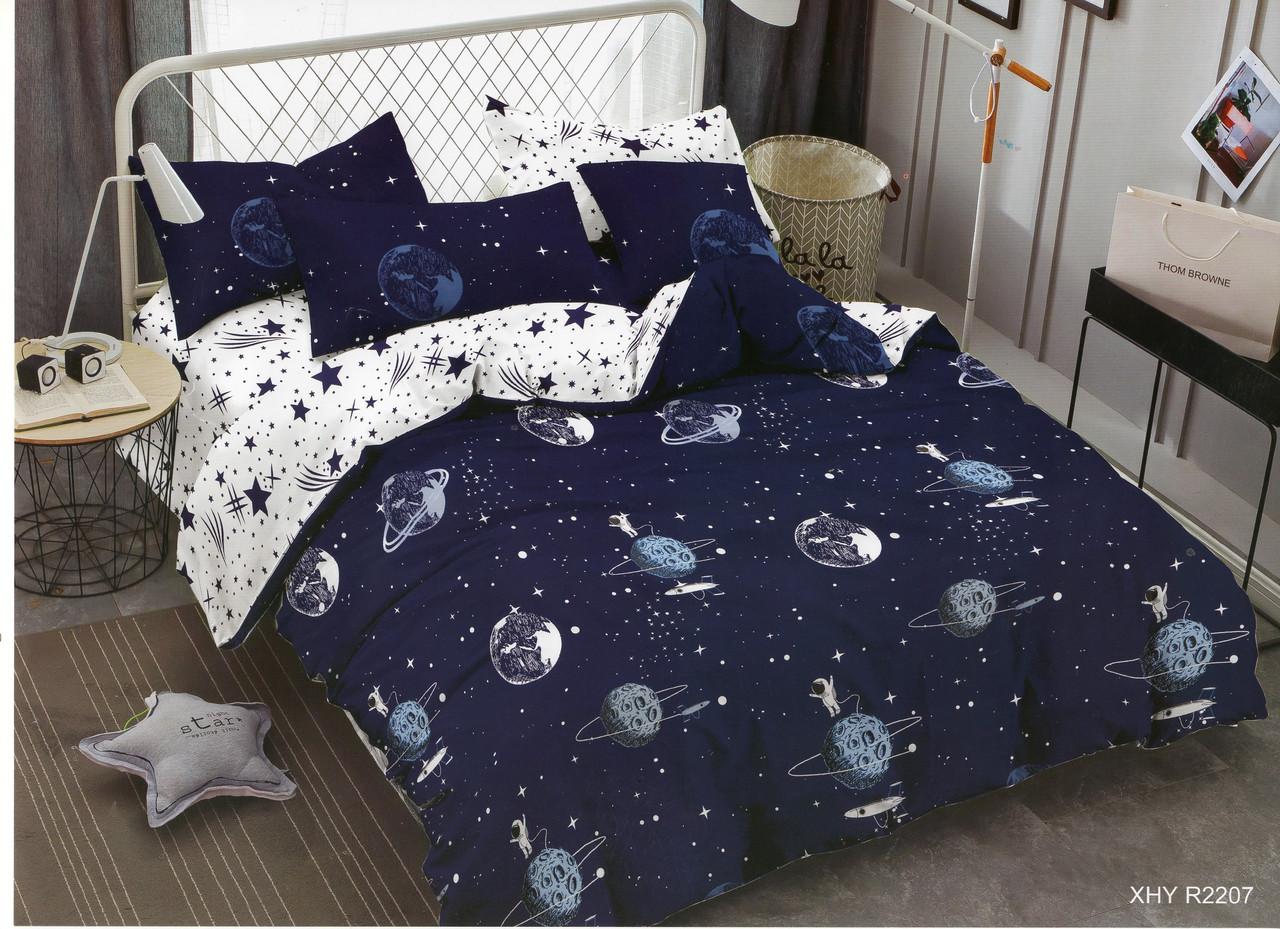 Двуспальное постельное бельё из хлопка