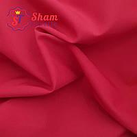 Ткань супер софт однотонный красный