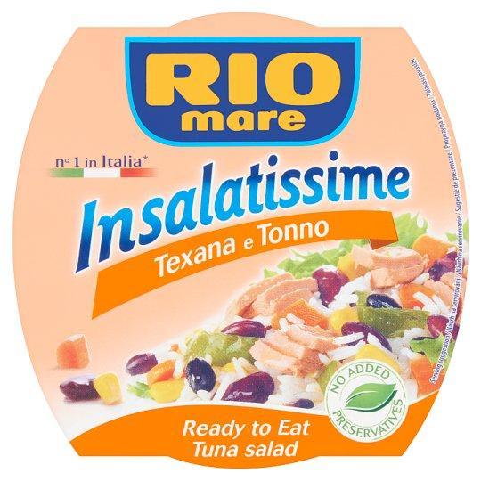Салат с тунцом Rio Mare Insalatissime Texana e Tonno с рисом и овощами,160 г.