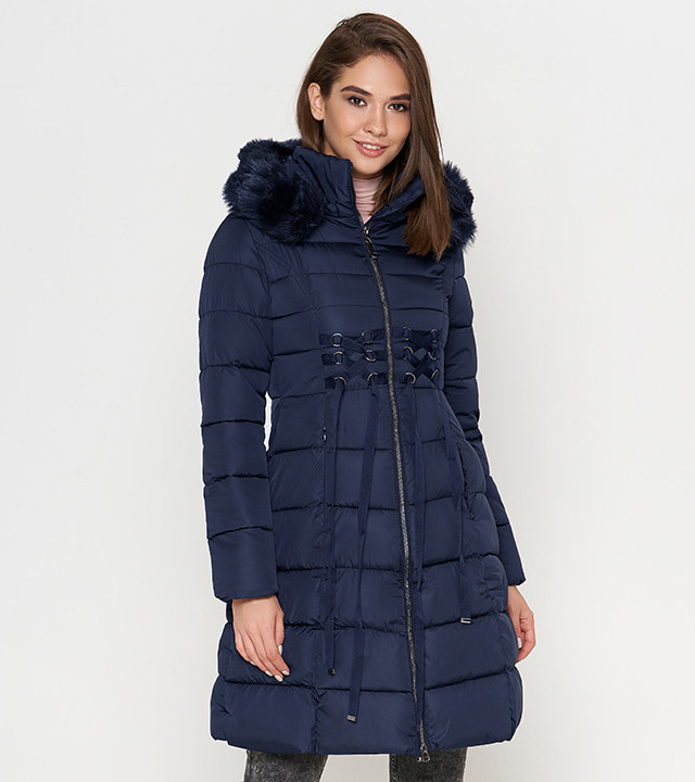 Tiger Force 1816 | Теплая женская куртка синяя