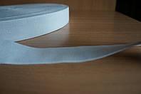 Тесьма эластичная 40 мм белая