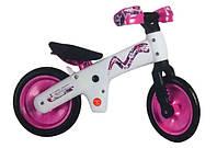 Велосипед (беговел) BELLELLI B-Bip, розовый с белой рамой