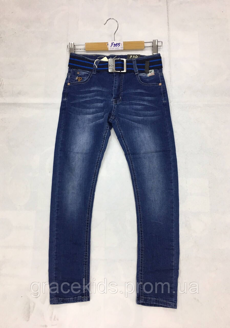 Подростковые джинсы для мальчиков FD Kids,разм 134-164 см