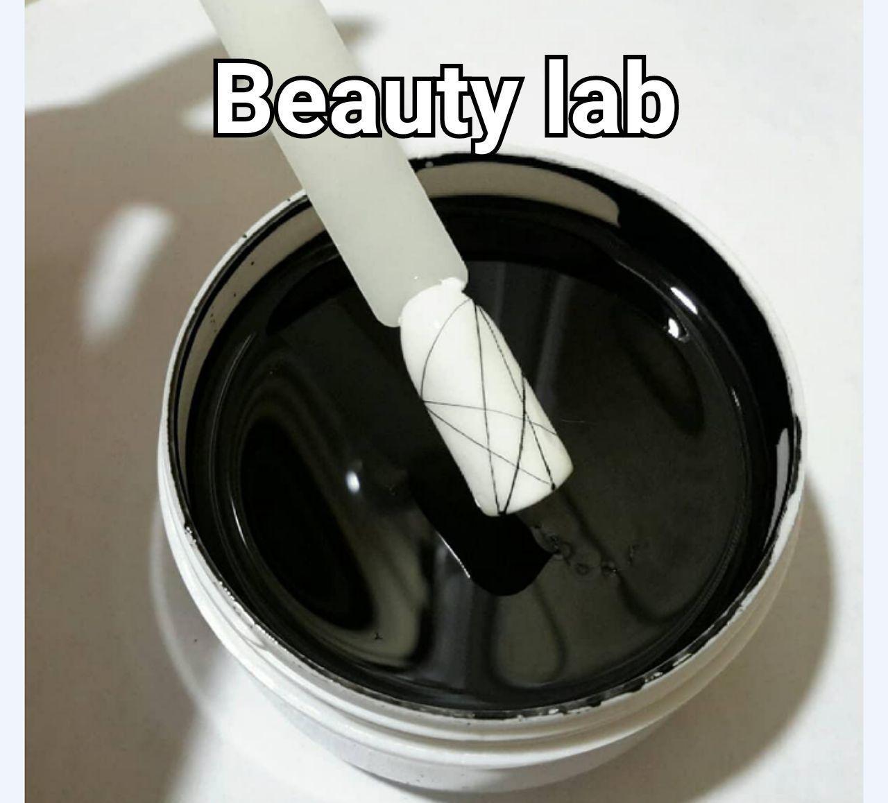 Гель паутинка чёрная
