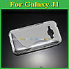 Чехол накладка бампер для Samsung Galaxy J1 J100h прозрачный