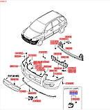 Фара противотуманная левая, KIA Sportage 2008-2010 KM, 922010z000, фото 5