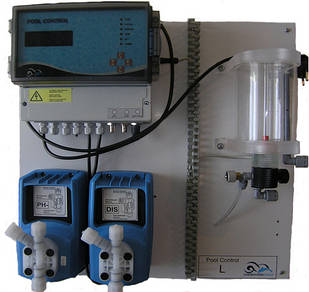 "Станция автоматического дозирования РН и хлора(либо кислорода) ""Pool Control L pH/CL flussig"" пр-во GmbH ""CHEM"