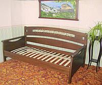"""Кровать односпальная """"Жан Жак"""". Массив - сосна, ольха, дуб"""