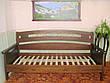 """Кровать полуторная """"Премиум"""". Массив - сосна, ольха, береза, дуб, фото 6"""