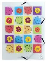 Папка пластиковая на резинках Pop'Art EXACOMPTA 55821E