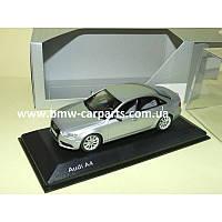 Модель Audi A4, Ice silver, 2013, Scale 1 43