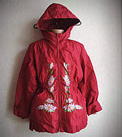 Детская ветровка-куртка Ромашки для девочки 5-8 лет, фото 1