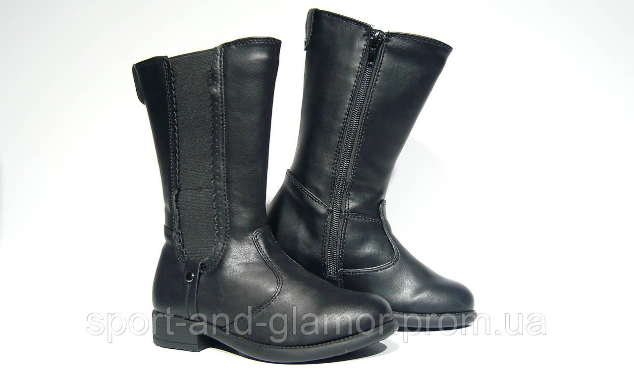 1e7d6ef04 Сапожки детские для девочек LUPILU, черные, 27 размер, цена 550 грн.,  купить в Днепре — Prom.ua (ID#895168137)