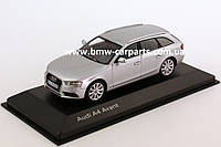 Модель Audi A4 Avant, Ice silver, 2013, Scale 1 43