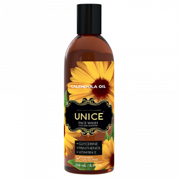 Тоник для лица с маслом календулы для жирной и комбинированной кожи лица 250 мл Unice