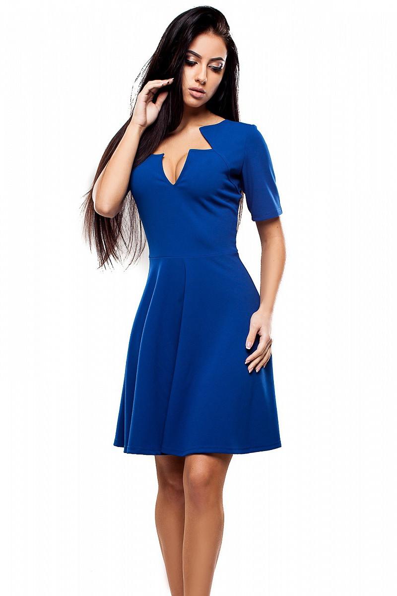 (S / 42-44) Жіноче синє вечірнє плаття Malibu
