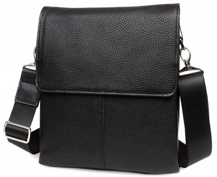 027bfc41c67c Мужская кожаная сумка черного цвета Alvi av-30-9721 - SUPERSUMKA интернет  магазин в