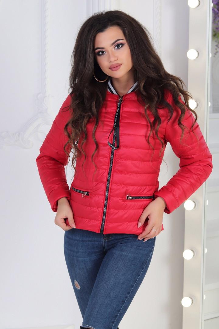 09a4f966200 Женская стильная стеганая куртка на синтепоне - Интернет-магазин оптовой и  розничной торговли