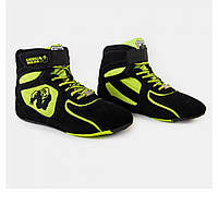 CHICAGO HIGH TOPS (NEON LIME)