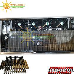 Конвекторы внутрипольные с вентиляторами (группа KVK)