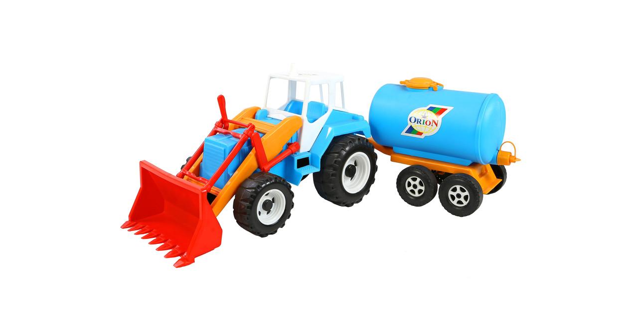 Дитячий трактор Скрепер-молоковоз Тигр Оріон (051)