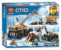 Конструктор Bela Cities 10997 Передвижная арктическая база
