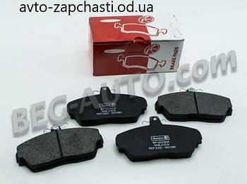 Колодки тормозные передние Газель-3302,2217,2705,3110,31105
