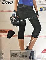 Вело легінси жіночі чорні Crivit