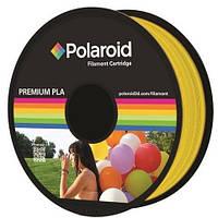 PLA-пластик Polaroid for 3D, transparent Yellow 1kg (3D-FL-PL-8021-00)