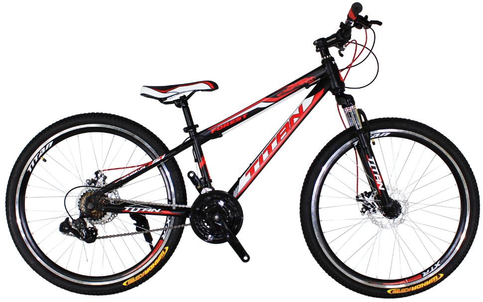 Підлітковий велосипед Titan Forest 24 дюймів 2017