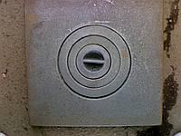 ✅ Плита чугунная одноконфорочная (350 х 380 мм), 9 кг (С)